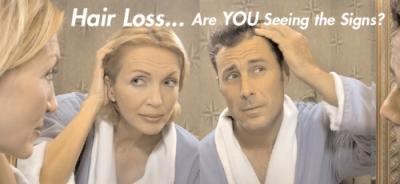 hairloss signs m+f 400x184 Hair Loss 101