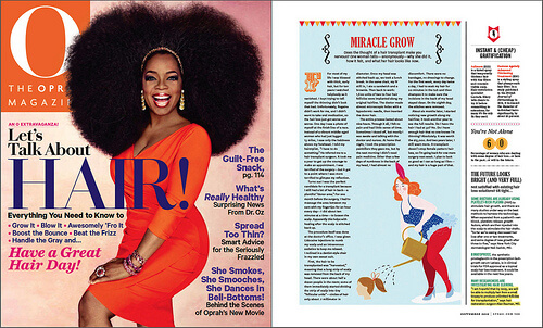 Oprah magazine cover Especially for Women