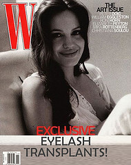 WMagazine Eyelash Transplant Cover Eyelash Transplant and Implant Procedure