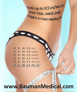 Zerona Body Fat Reduction 253x300 Zerona Laser Treatment Fat Reduction