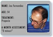 patient5 information Joe F.