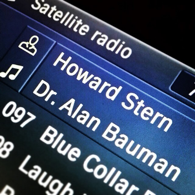 Dr. Bauman on Howard Stern