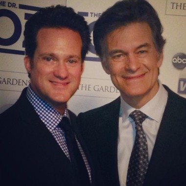 Dr Bauman with Dr Oz in Palm Beach, FL