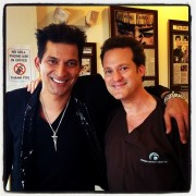 Dr Bauman with Celebrity Stylist Martino Cartier in Boca Raton, FL