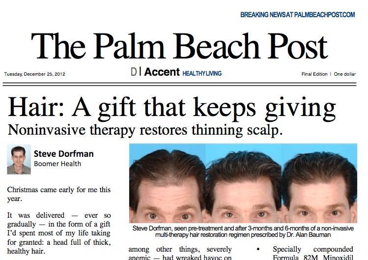 Palm Beach Post Newspaper Office
