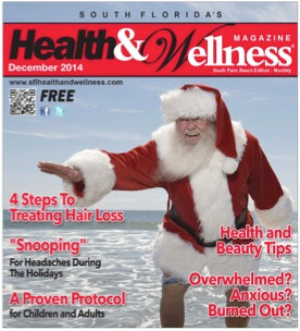 "Health & Wellness Magazine: ""4 Steps to Treating Hair Loss"" Article Written by Dr. Bauman"