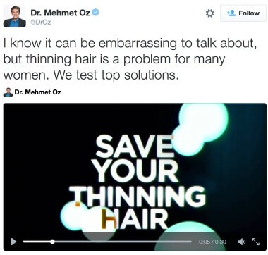 Female Hair Loss Treatments on DrOz