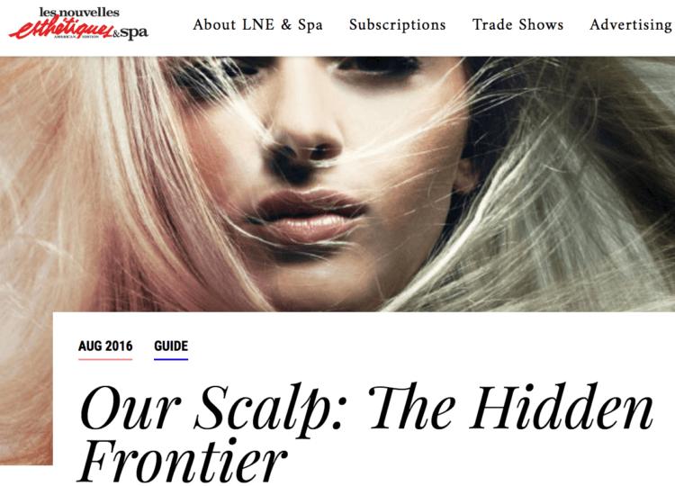 Our Scalp: The Hidden Frontier