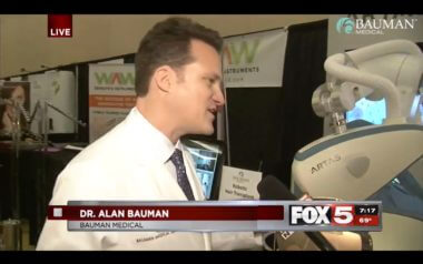 ARTAS Robotic Hair Transplants on FOX5 Las Vegas with Dr. Alan Bauman
