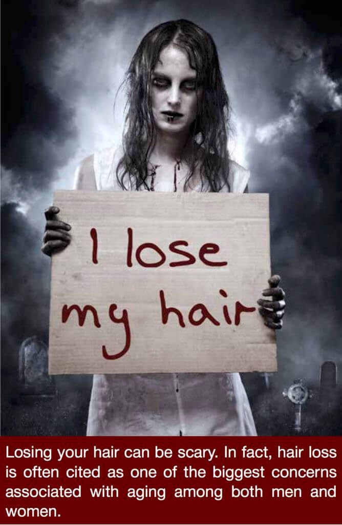 scary hair loss 668x1024 Is Vampire PRP the Answer to Scary Hair Loss?