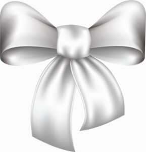 white bow 5 Holiday Gift Ideas that will keep on Giving and Growing   for Life!