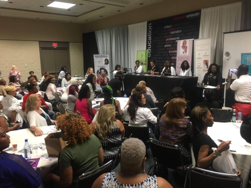 Dr Bauman Orlando Premiere 2018 1024x768 Top Hair Restoration Expert Dr. Alan J. Bauman Featured at 2018 Premiere Orlando Beauty Conference
