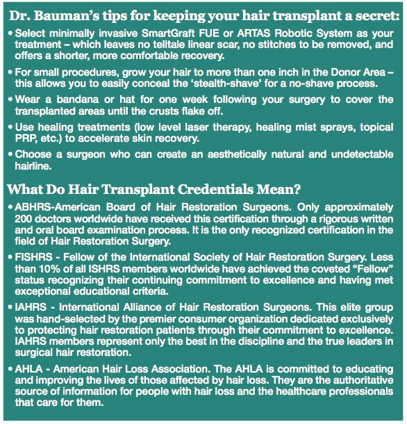 Screen Shot 2018 07 03 at 8.08.46 AM ARTICLE: Hair Transplant DOs and DONTs