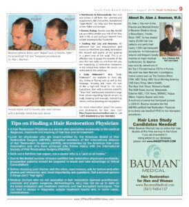 SFLSouth0818 detect treat hair loss2 274x300 ARTICLE: How To Detect and Treat Hair Loss