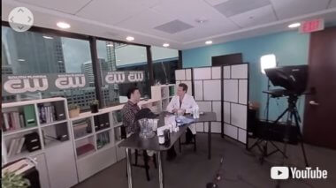VIDEO: Behind The Scenes 360 – Dr. Alan Bauman on CW Inside South Florida