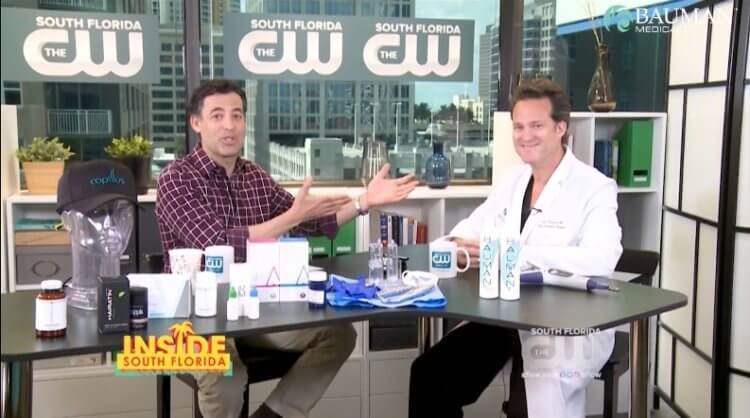 Treating Hair Loss – Inside South Florida CW w Dr Alan Bauman