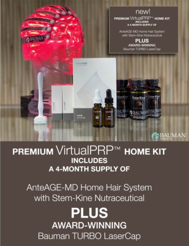 What is VirtualPRP and AnteAge-MD Home Hair System?