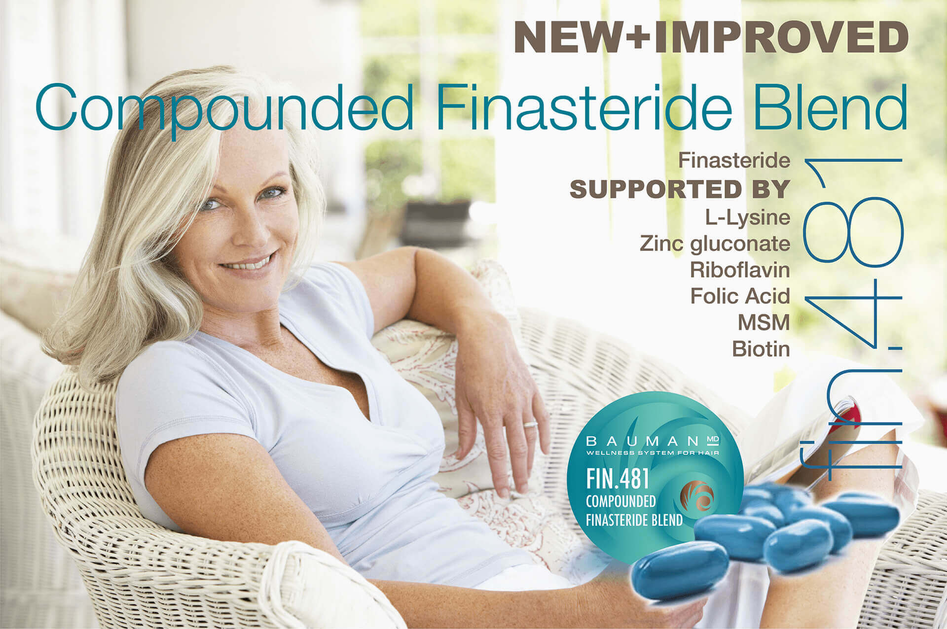 Compounded Finasteride Fin 481 Bauman Medical