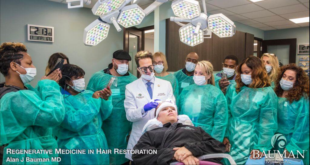 Regenerative Medicine Exosomes in Hair Restoration dr alan bauman 1024x545 Exosomes for Hair Loss & Hair Restoration