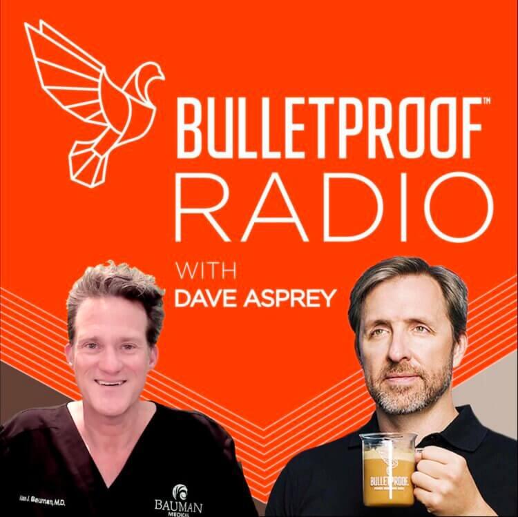 "Dr. Alan Bauman sits down with Dave Asprey on Bulletproof Radio to discuss ""Biohacking Baldness"""